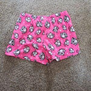 Girls pajama shorts